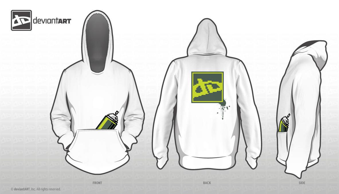 8-bit dA Graffiti by JesseChang3D