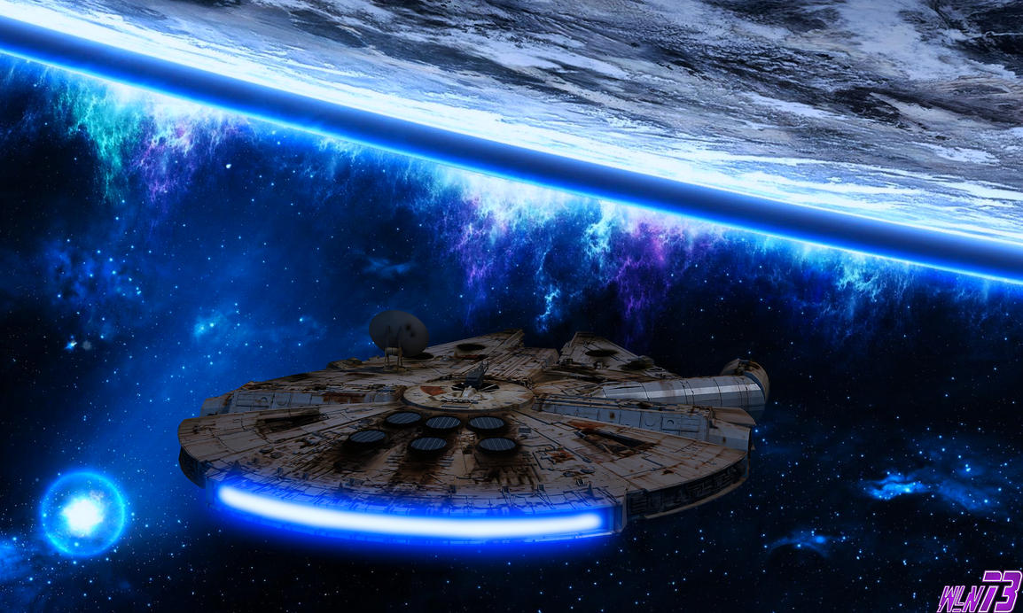 Millenium Falcon by WLN73