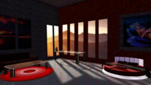MMD Stage Big Bedroom DL
