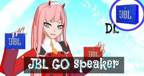 [MMD] JBL GO Speaker DL by Kefast