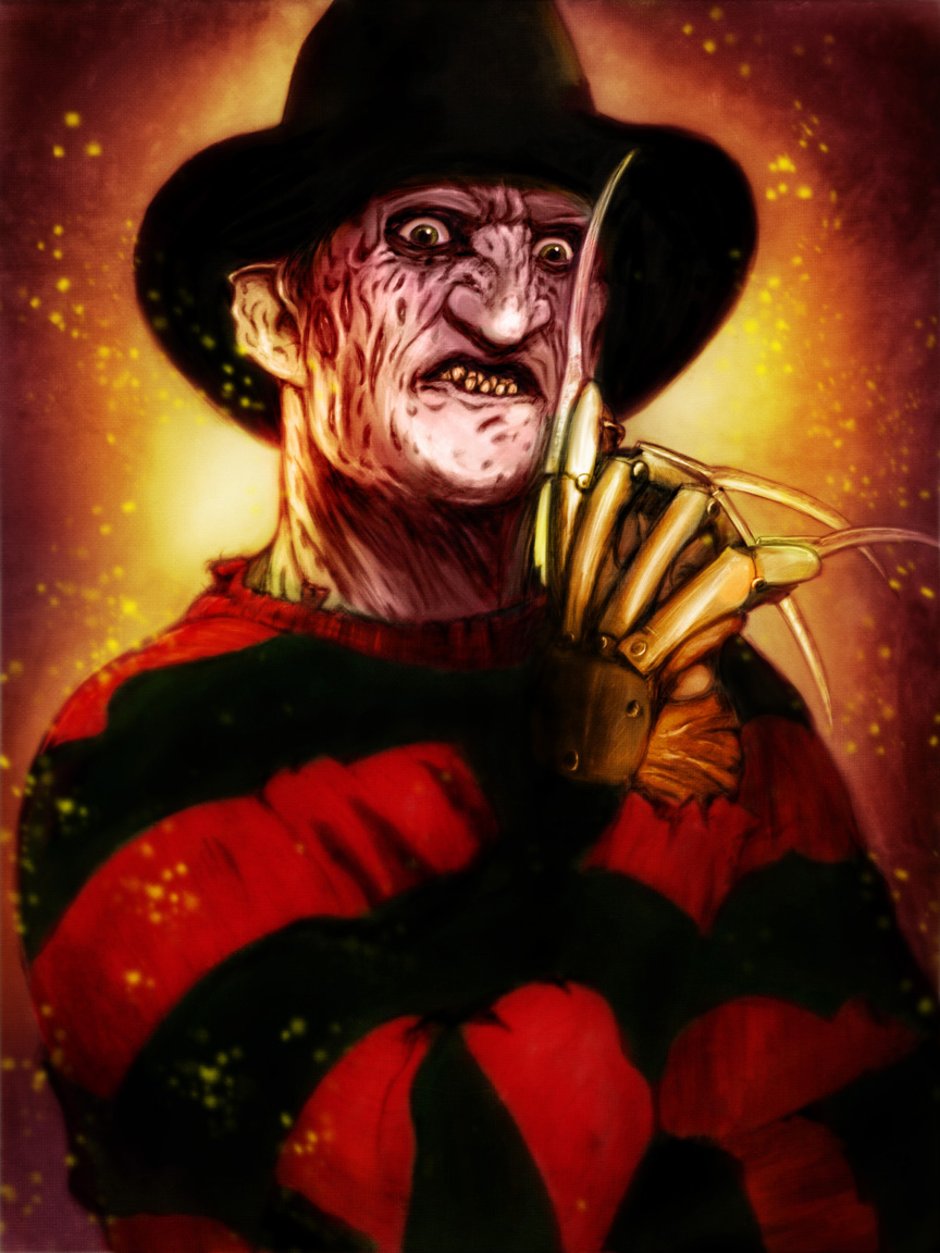freddy krueger Freddy krueger is the main antagonist of the nightmare on elm street franchise of horror movies a prolific child serial killer turned netherworldly monster, freddy krueger is capable of killing his victims in their sleep, usually with his signature bladed glove.