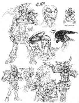 Bionicle Bara Magnans