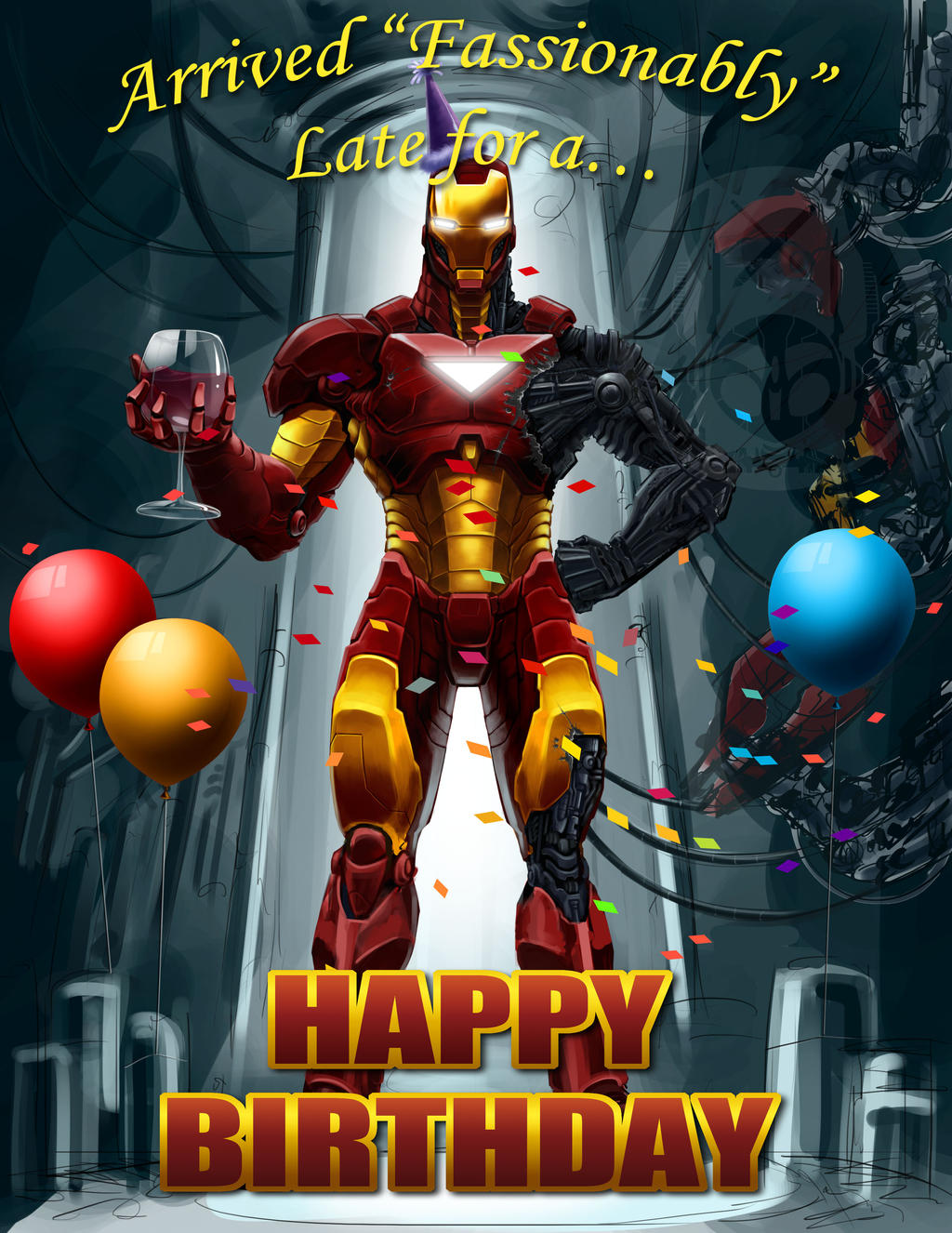 Happy Birthday Iron Man 2000 School of Dragons How to Train