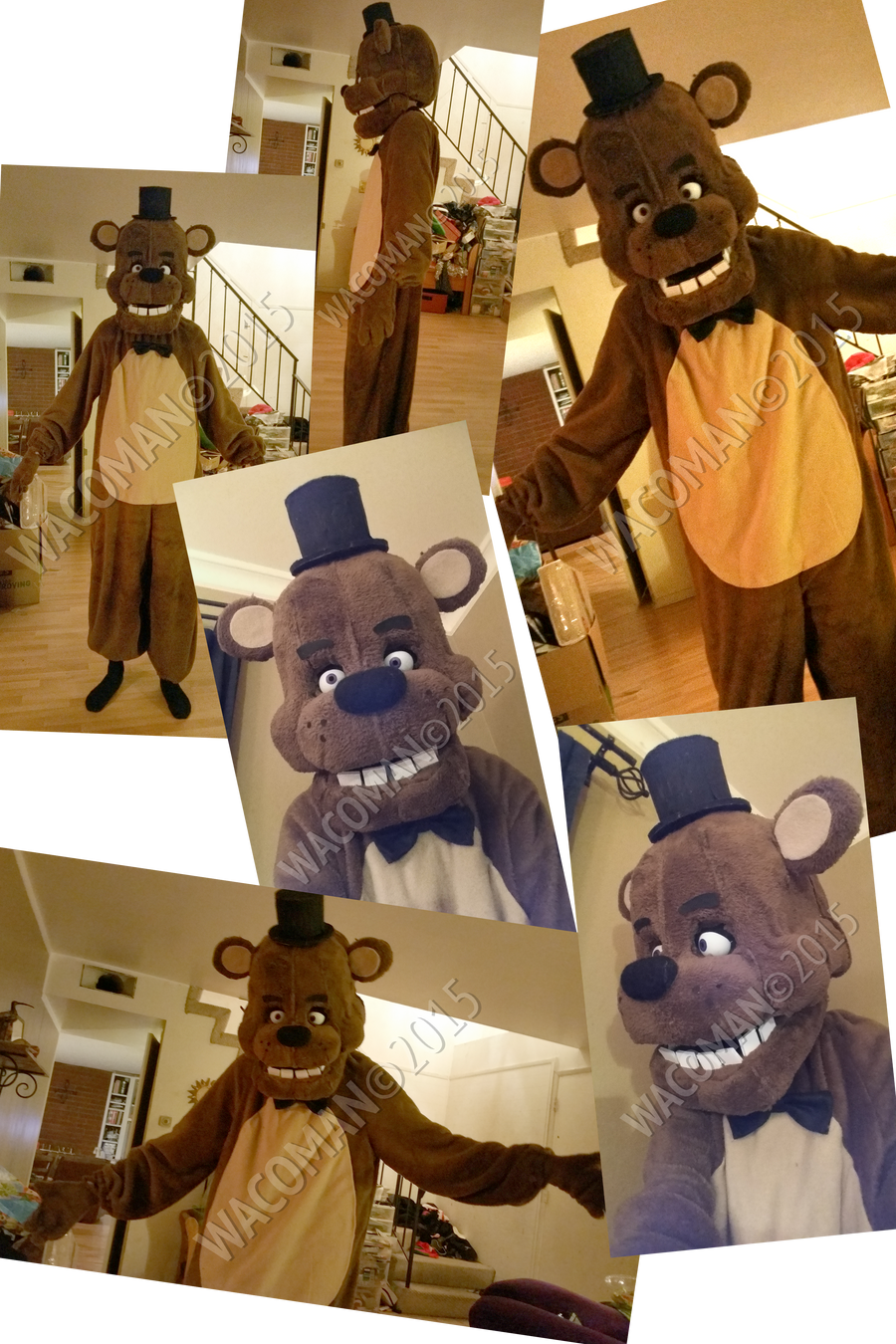 Freddy Fazbear Costume by The-HT-Wacom-Man