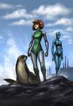 Gift-Art: Planet Ripple