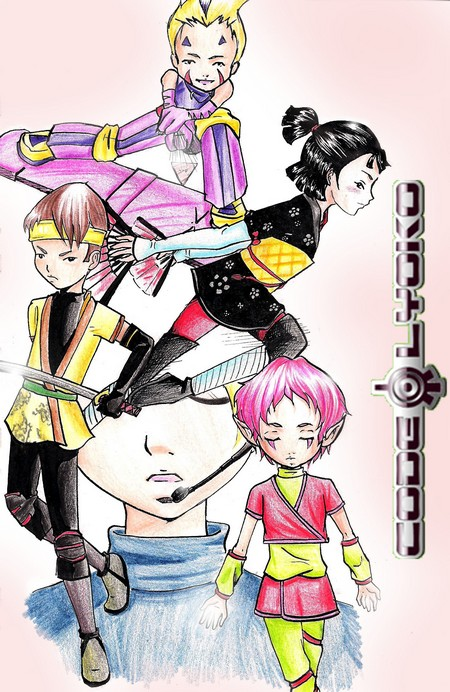 Fan art Code Lyoko by Misore-Seppen
