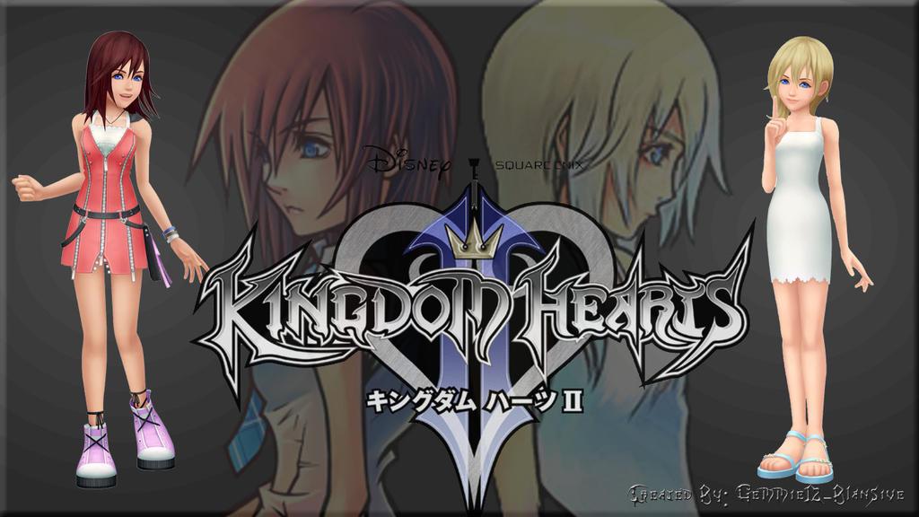 Kingdom Hearts II (Kairi Version) Wallpaper Custom by ...