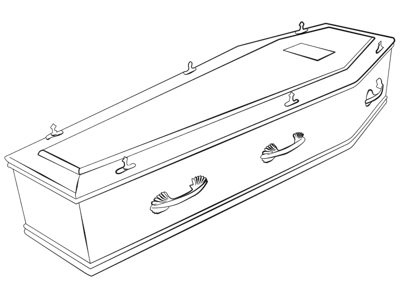 sketch coffin lineart by cilindr0 on deviantart