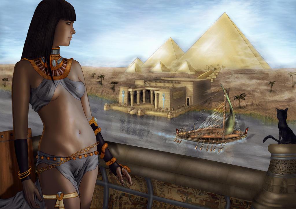 Egypt Warrior Illustration Anubis Pyramid Fantasy Art: Ancient Egypt Dreams By CiLiNDr0 On DeviantArt