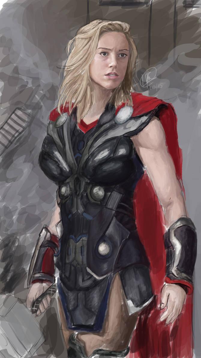 female thor - 670×1192