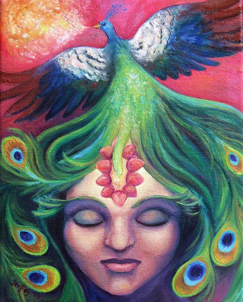 Krishna Mind by JenFey