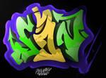 Graffiti SAN 3D by S68Navia