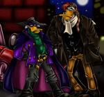 Just Darkwing and Sidekick.
