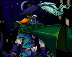 Quivering Duck by DarkPenguin
