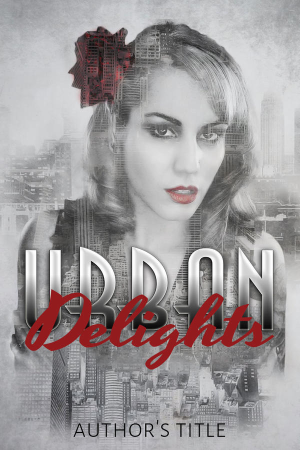 Urban Delights: Premade Book Cover by justaddgigi