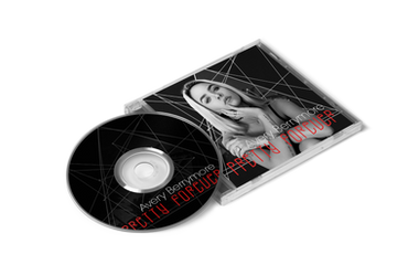 Pretty Forever - CD Cover Design by justaddgigi