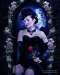 Night Flower by justaddgigi
