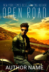Open Road: Premade Book Cover