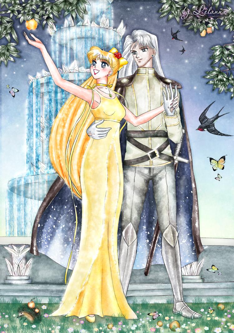 In the Royal garden by Lelanna