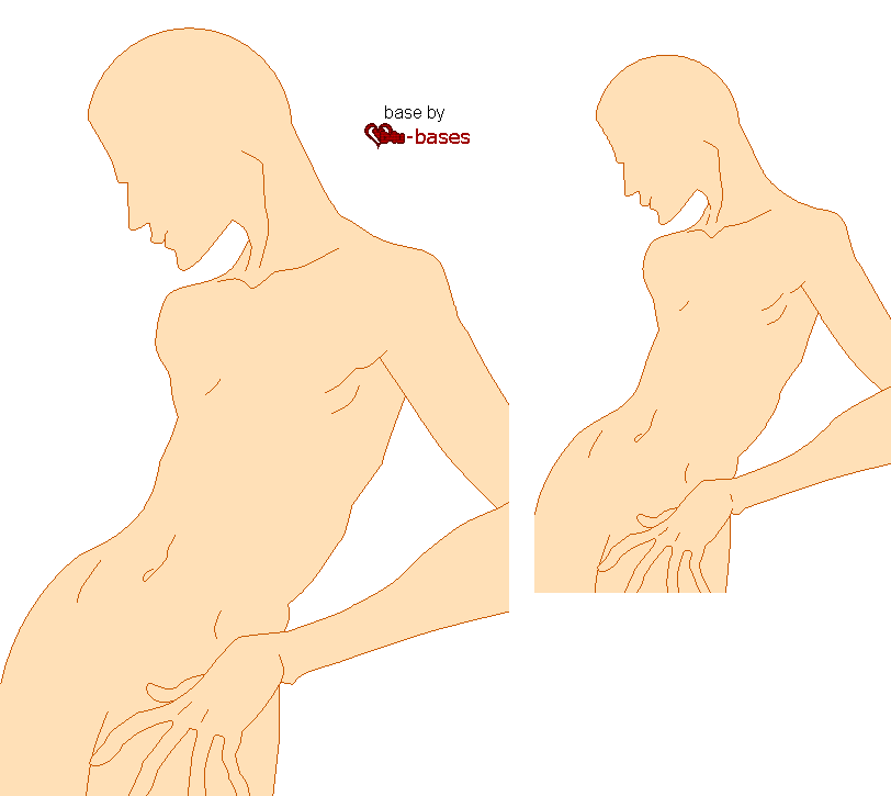 male base5 by D4u-bases