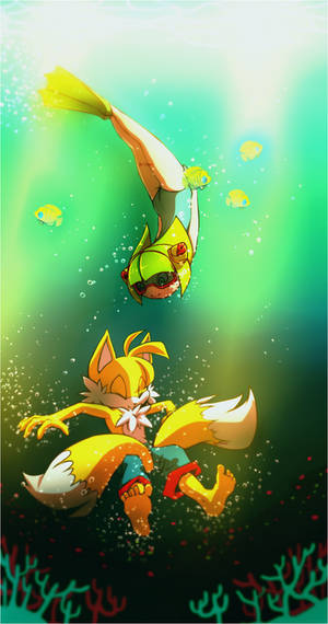Cosmo and Tails.