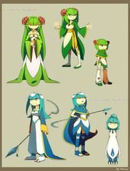 Sonic Boom: future leader and priestess.