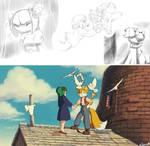 Cosmo and Tails:TENKU NO SHIRO RAPYUTA