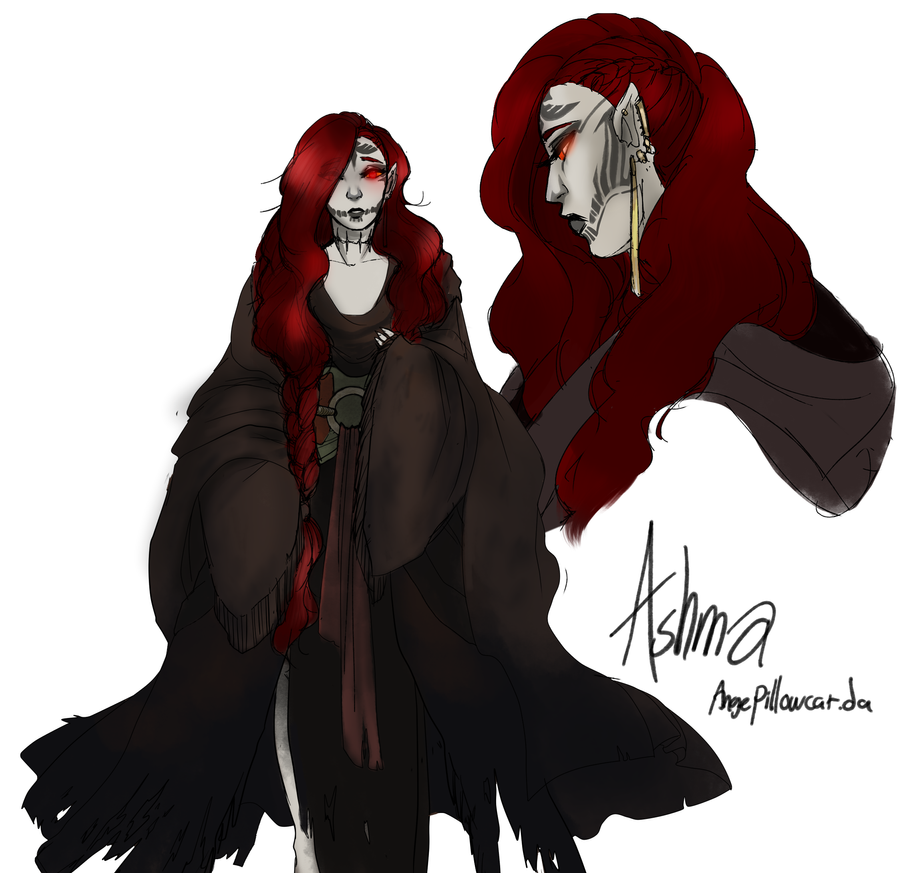 Ashma the poe girl by AngePillowcat