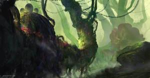 Forest by DeerandFox