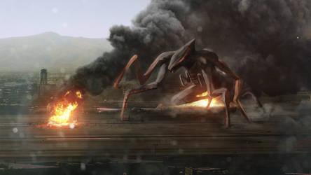 GODZILLA 2014 - M.U.T.O. Monster Concept