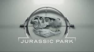 Jurassic Park Logo (Westworld Style)
