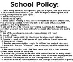 School Policy by jtobler