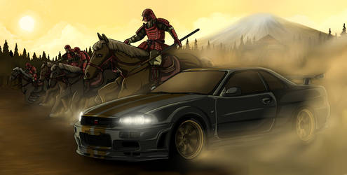 Vehicles of Legend - Nissan Skyline (Japan) by ArtisticAxis