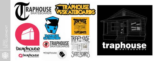 Traphouse Logo Development by ArtisticAxis