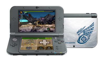 New-Nintendo-3DS-XL-edition-Monster-Hunter-4-Ultim by ArtisticAxis