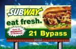 Sub Sandwich Billboard Ad