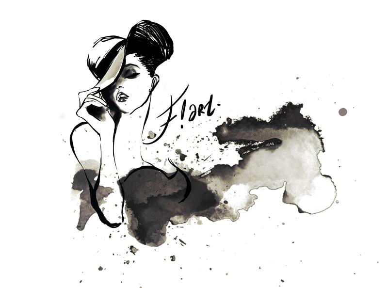 Fashion Illustration By Se6Felicia
