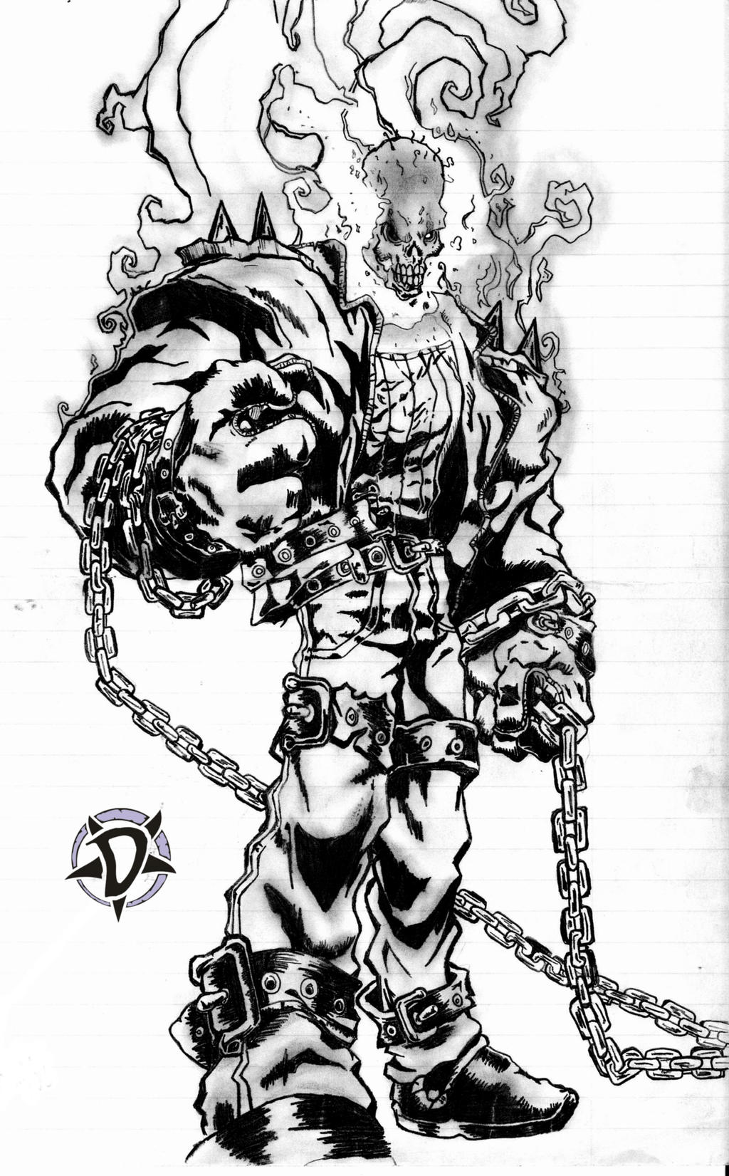 Ghost Rider Drawing Book Pictures to Pin on Pinterest  PinsDaddy