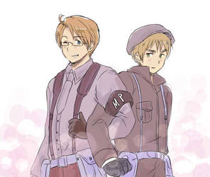 USUK in uniform