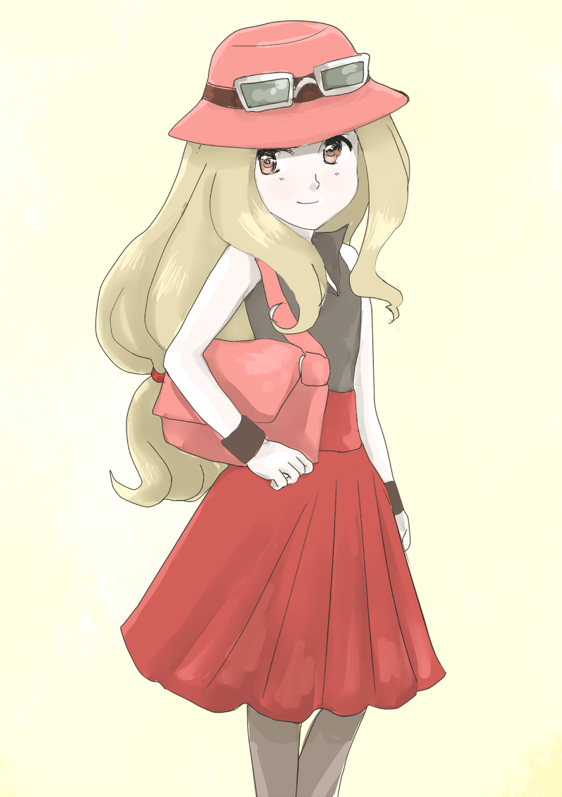 Pokemon And Y Anime Characters Names : New pokemon xy girl by maybebaby on deviantart