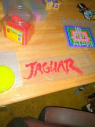 atari jaguar  perler by ndbigdi