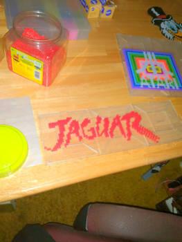 atari jaguar  perler