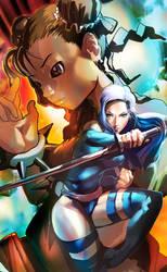 Marvel vs Capcom  BEST Female fighter