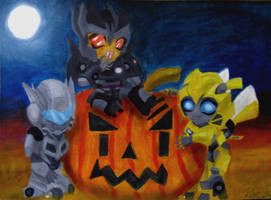TF Halloween by Bumblesz