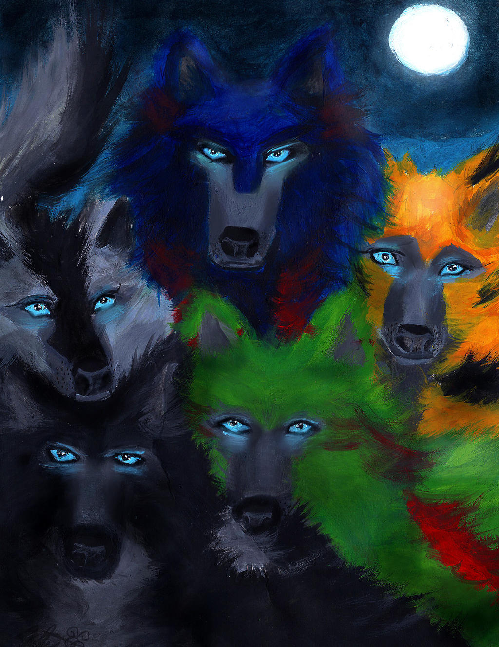 Transformers ROTF Wolfs by Bumblesz