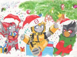 TF Happy New year 2012 by Bumblesz