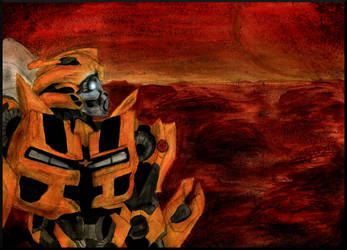 Bumblebee on Mars~Redraw by Bumblesz