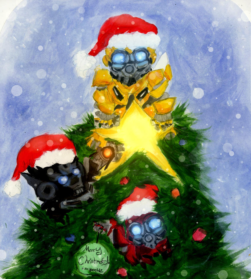 Christmas Bee '14 by Bumblesz