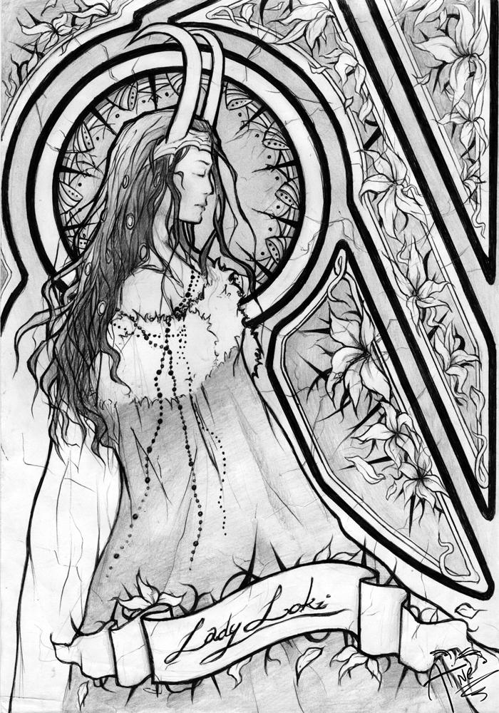 Képek - Page 4 Lady_loki___black_and_white_by_aliline-d5mu9q0