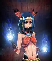 death dark blue power by opcrom